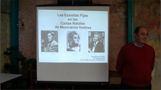Manifestación de estrellas fijas en las cartas natales de mexicanos ilustres