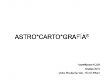 Astro*Carto*Grafía
