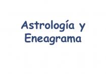 Astrología y Eneagrama