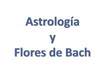 Astrología y Flores de Bach