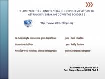 Lo que Aprendí en las Conferencias Astrológicas BDTB 2