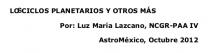 Los Ciclos Planetarios